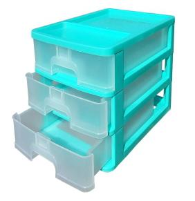 Пластиковый комод  3-ярусний, канцелярский