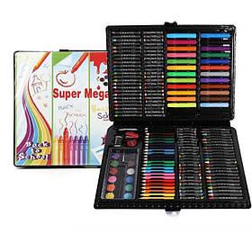 Набор для творчества Super Mega Art Set 228 предметов (Black)   Набор для рисования в чемодане