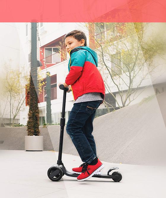 Самокат Kick Scooter детский трехколесный