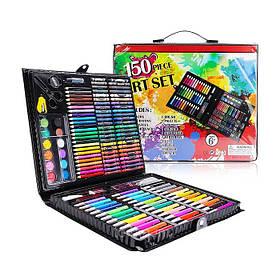 Набор для творчества Art Set 150 предметов (Black)   Набор для рисования в чемодане