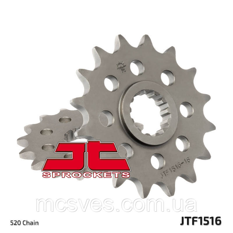 Звезда стальная передняя JT Sprockets JT JTF1516.17