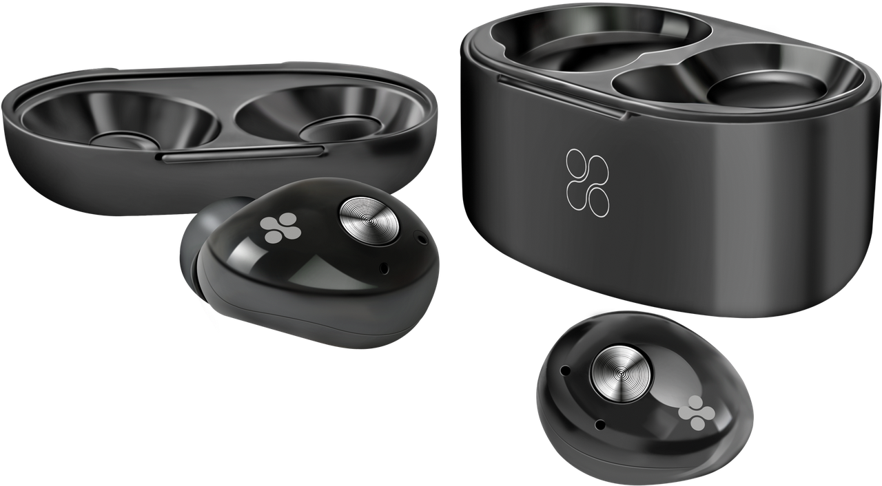 Bluetooth наушники PrimeBud Black (Распакован)