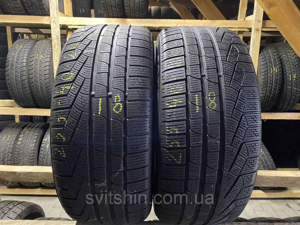 Шини бу зима 255/40R20 101V Pirelli Sottozero 210 6мм 18рік