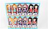 Супер Герои кукла Супергёрл серия Базовые набор 6 шт 0304