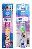 """Електрична дитяча зубна щітка на батарейках """"Oral-B"""" незнімна насадка TP0021, фото 2"""
