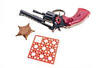 Меган игрушечный пистолет с пистонами и нагрудный значок 140