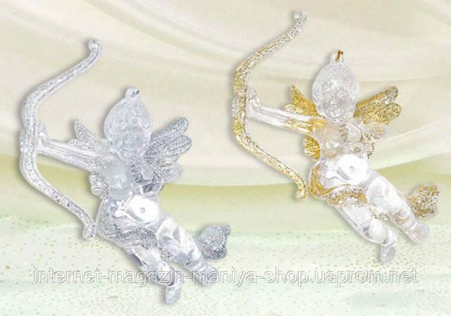 Елочное украшение Ангел, 12см