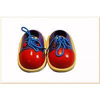 Деревянная игра шнуровка 5321