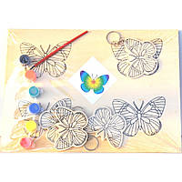 Деревянная заготовка для раскраски  Бабочка B5360