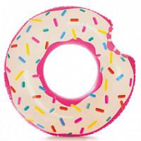 Круг для плавания 56263NP пончик INTEX