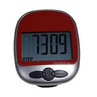 Портативный LCD шагомер со счётчиком расстояния и сожжённых калорий - отличная вещь для туристов и спортсменов