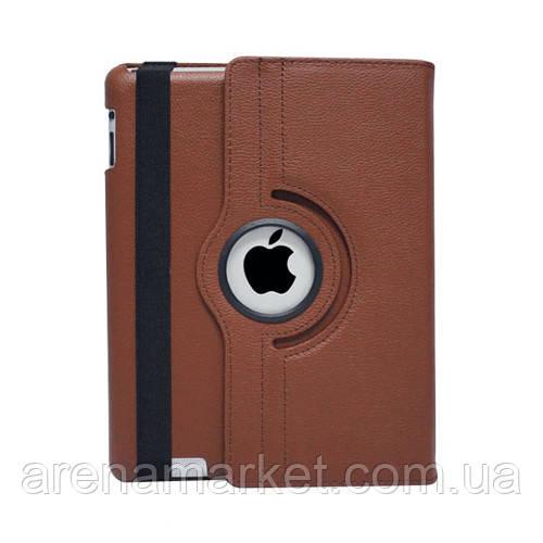 Чохол Smart Cover для iPad 2/3/4 з поворотом на 360 градусів - коричневий колір