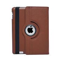 Чохол Smart Cover для iPad 2/3/4 з поворотом на 360 градусів - коричневий колір, фото 1