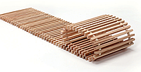 Декоративная деревянная решетка Polvax™ 160 x 2000, фото 1