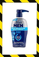 Nair, Крем для удаления волос безболезненно For Men, Hair Remover Body Cream 368 g