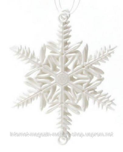 Елочн.украшение Снежинка,10см, наб. 2