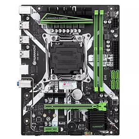 Материнская плата X99M-PLUS LGA 2011-3, DDR3 and DDR4, Xeon E5 V3&V4, SATA-3, pci-e, M.2 NVME, фото 2