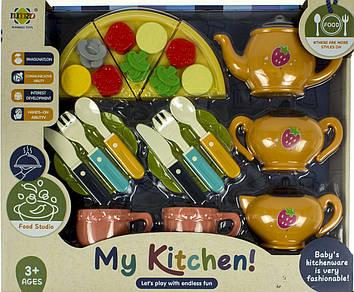 Посуд: чайний сервіз на 3персони,кухонні аксес.,в кор-ці,37х30х6,5см №RM8203-6-8(24)