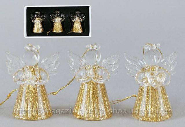 Набор елочных  украшений Ангел (3)