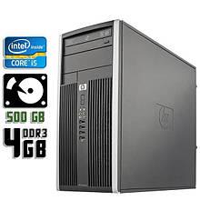Компьютер б/у HP Compaq 6200 Elite, Core i5 2400, DDR3-4Gb, HDD-500Gb