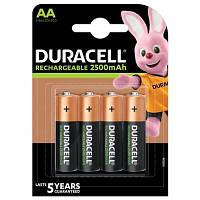 Аккумулятор AA/(HR6) Duracell Recharge DX1500, 2500mAh, LSD Ni-MH, блистер 4шт, цена за уп., China
