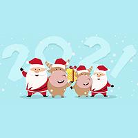 З Новим Роком та Різдвом Христовим 2021!