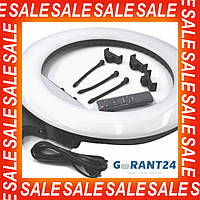 Кольцевая лампа 55см RL-21 для селфи / для визажиста / селфи лампа / круглая