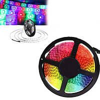 Світлодіодна стрічка 5050 300 LED RGB 5м з блоком живлення Велика