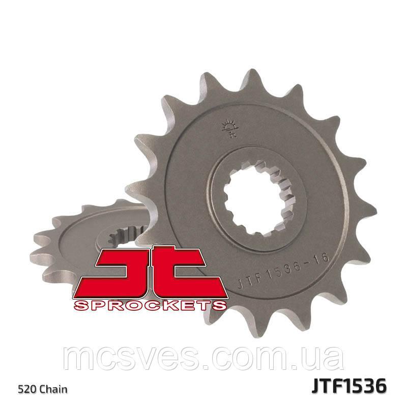 Звезда стальная передняя JT Sprockets JT JTF1536.16