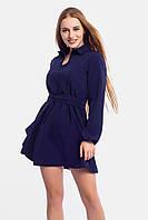 Короткое женское платье Limo, темно-синий