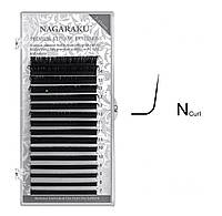 Вії Nagaraku 0,10 N mix 7-15 мм