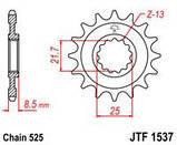 Звезда стальная передняя JT Sprockets JT JTF1537.17RB, фото 2
