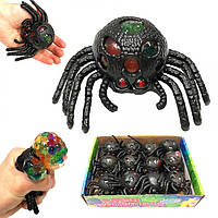 Антистресс для рук черный паук