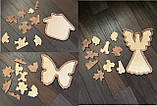 Пазлы деревянные  Бабочка, фото 3
