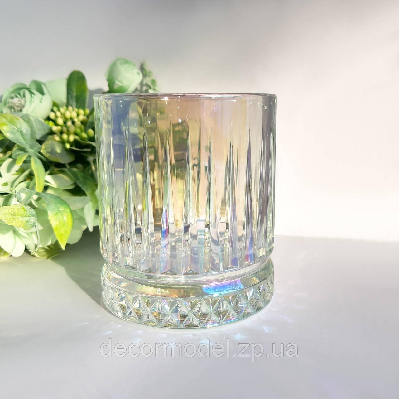 Набор стаканов низких Pasabahce Elysia 355 мл 4 шт 520004 перламутр