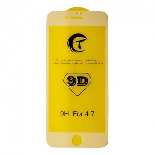 Захисне скло 5/9/10/21D для iPhone 7 8 SE2 - біле