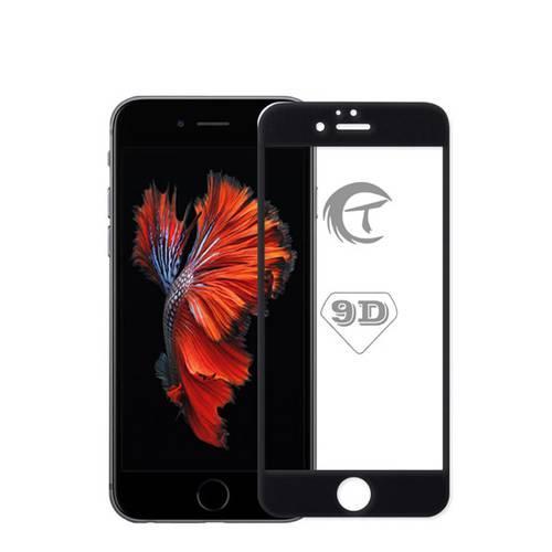 Захисне скло 5/9/10/21D для iPhone 6/6S - чорне