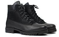 Ботинки мужские зимние кожаные обувь на меху Rosso Avangard Taiga Ultimate Black, фото 1