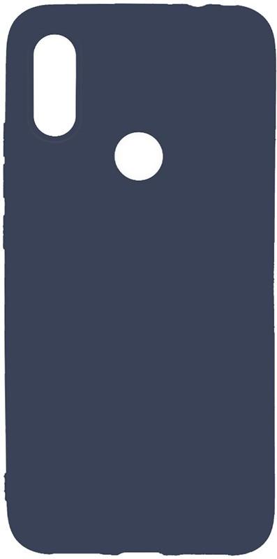Чехол-накладка TOTO 1mm Matt TPU Case Xiaomi Redmi 7 Navy Blue #I/S