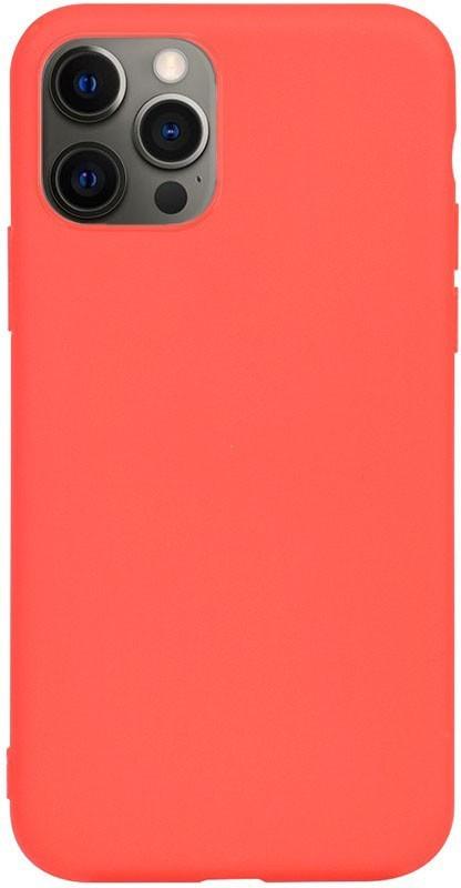 Чехол-накладка TOTO 1mm Matt TPU Case Apple iPhone 12 Pro Max Red #I/S