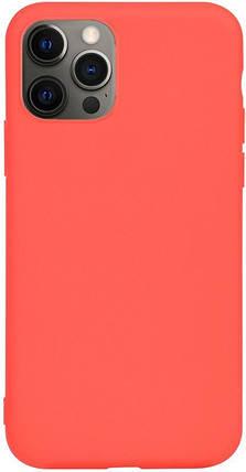 Чехол-накладка TOTO 1mm Matt TPU Case Apple iPhone 12 Pro Max Red #I/S, фото 2
