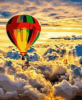 Картина рисование по номерам У небі PN1220 Artissimo 40х50см розпис за номерами набір, фарби, пензлі, полотно