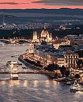 Картина рисование по номерам Чарівний Будапешт PNX4370 Artissimo 50х60см розпис за номерами набір, фарби,