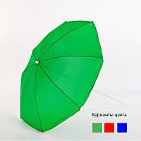 """Большой торговый зонт MH-3313 садовый система """"Ромашка"""" для пляжа круглый регулятор наклона d 2.5м"""