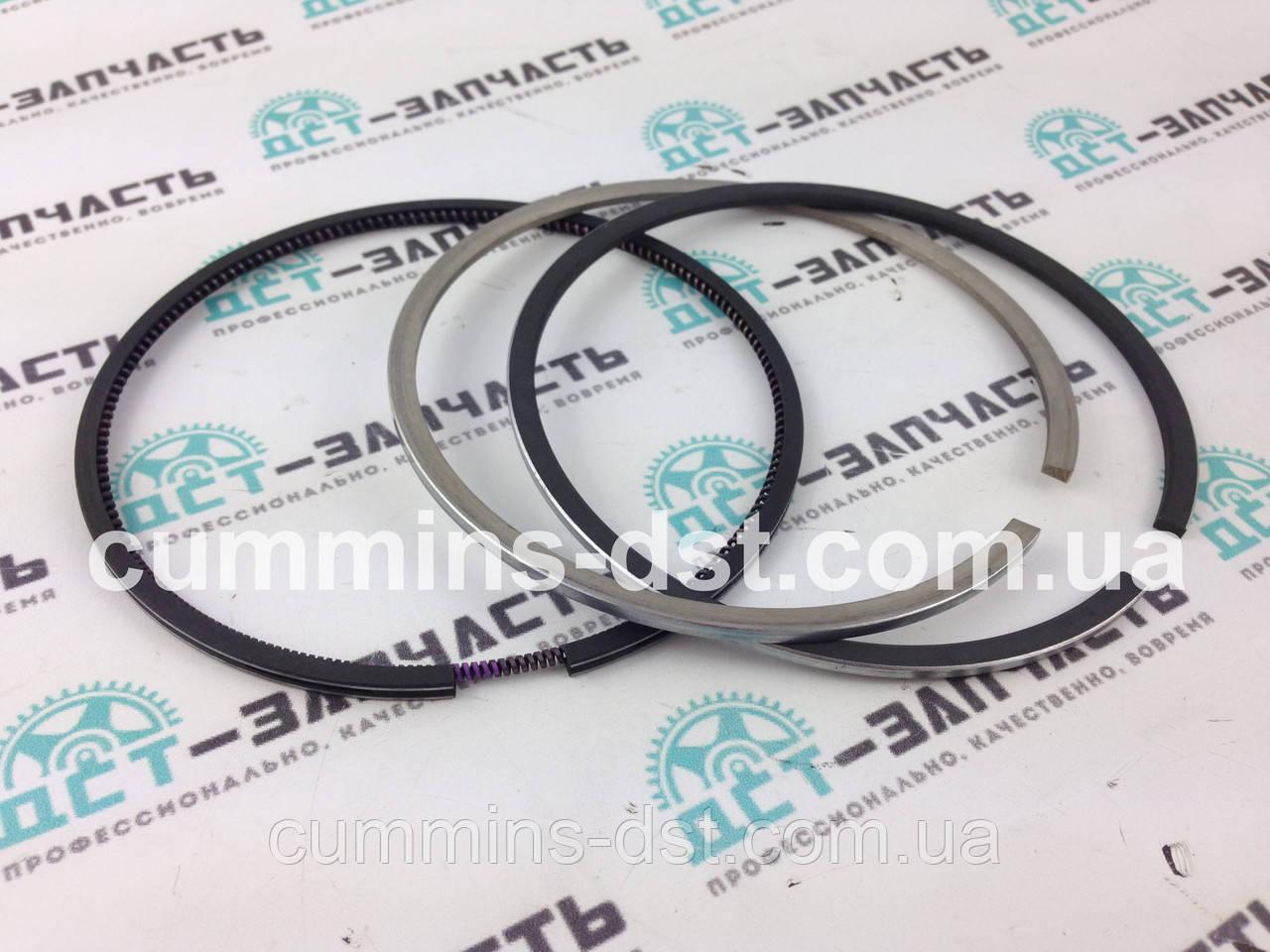 Кольца поршневые 107мм ремонт +0.50 - 4089614 Cummins QSB4.5 QSB6.7 КАМАЗ
