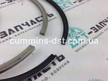 Кольца поршневые 107мм ремонт +0.50 - 4089614 Cummins QSB4.5 QSB6.7 КАМАЗ, фото 2