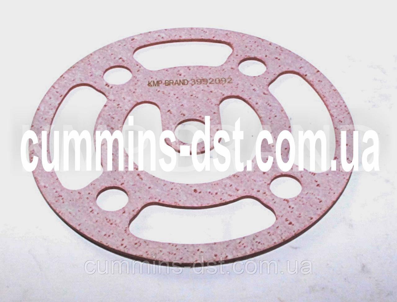3992092 Прокладка фильтра корпуса маслоохладителя Cummins QSC/QSL
