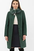 Зимнее женское пальто изумрудное MS-185 Z