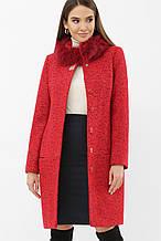 Зимнее женское пальто красное MS-185 Z