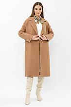 Женское зимнее пальто в бежевом цвете MS-279 Z